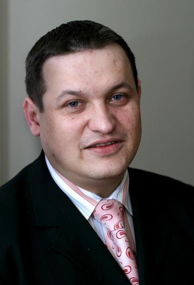 Jacek Męcina, wiceminister pracy. Fot. Adam Tuchliński /Reporter