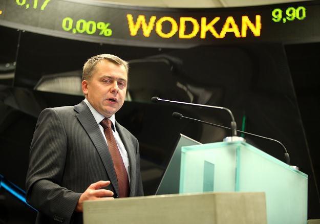 Jacek Nasiadek, prezes zarządu WODKAN S.A. /PAP