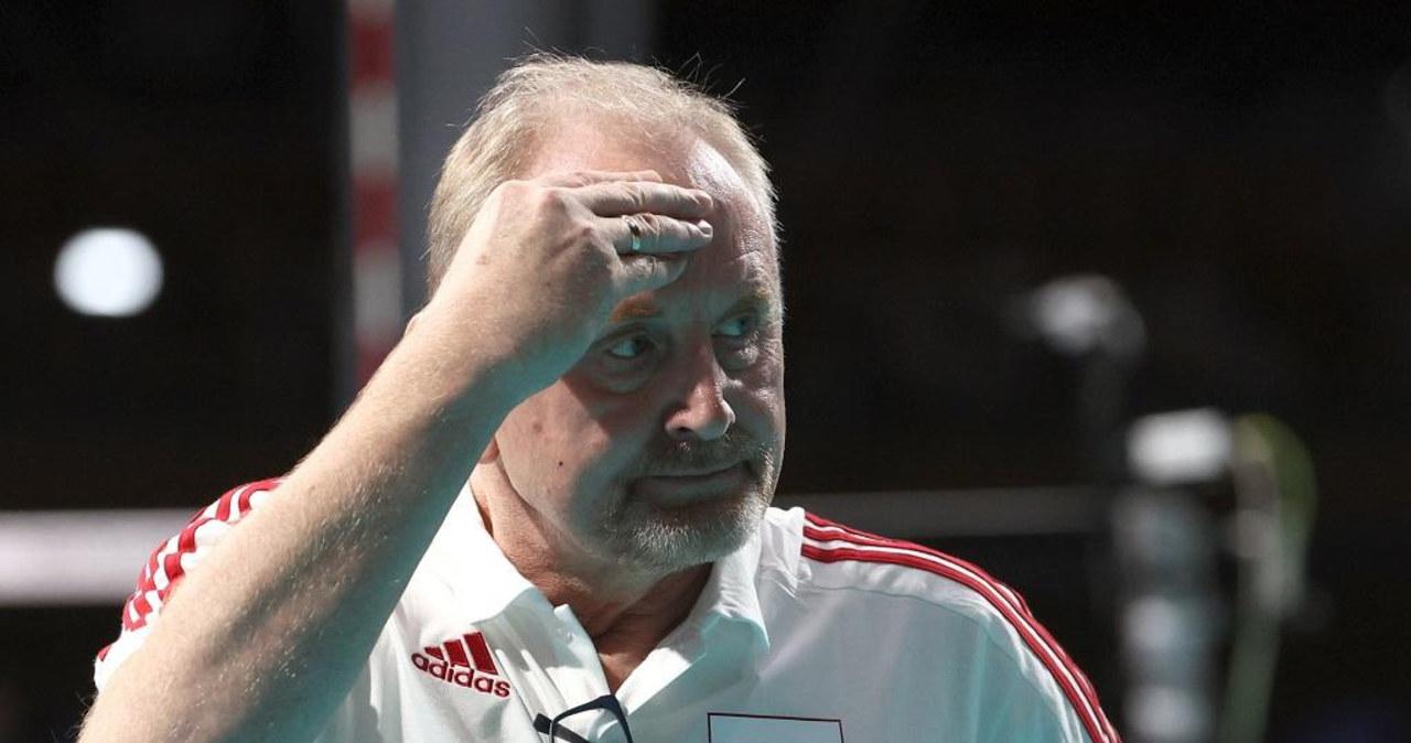 Jacek Nawrocki nie jest już trenerem siatkarskiej reprezentacji kobiet