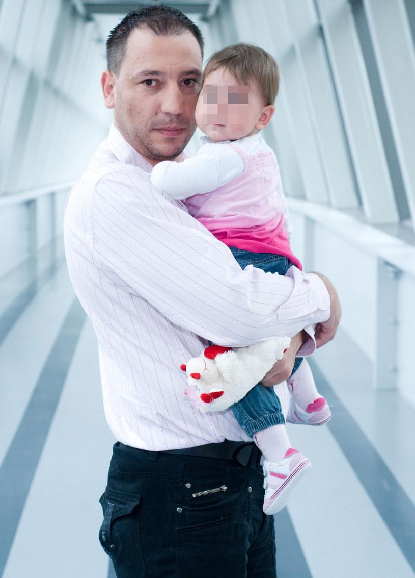 Jacek Olszewski z córką Lilianą, 2008 r. /Piotr Wygoda /East News