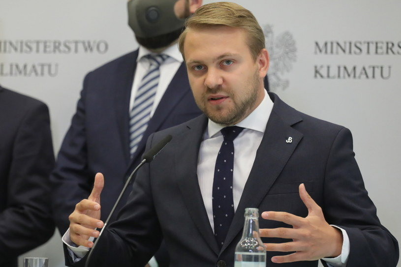 Jacek Ozdoba, wiceminister klimatu /Paweł Supernak /PAP