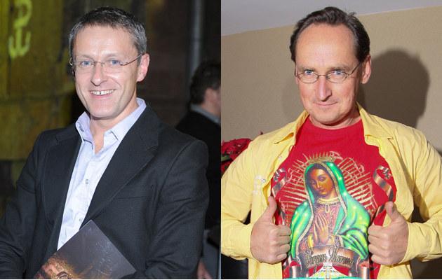 Jacek Poniedziałek, Wojciech Cejrowski, fot.Paweł Przybyszewski  /MWMedia