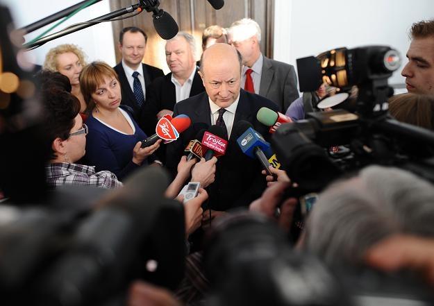 Jacek Rostowski/fot. J. Turczyk /PAP