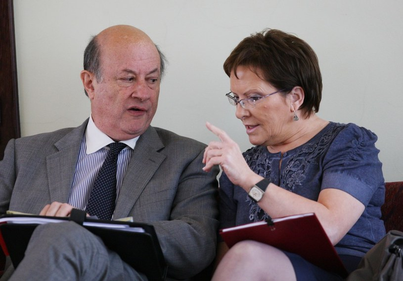 Jacek Rostowski i Ewa Kopacz /East News