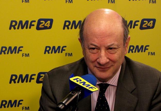 Jacek Rostowski, minister finansów RP /RMF