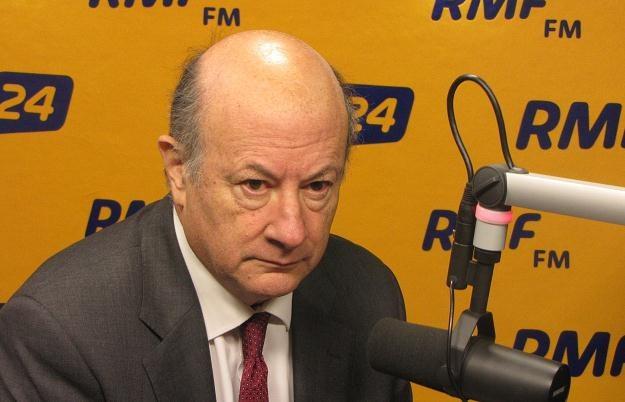Jacek Rostowski, minister finansów /RMF