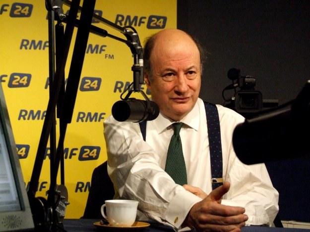 Jacek Rostowski - Resort finansów uratował wczoraj złotego /RMF