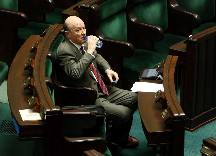 Jacek Rostowski w Sejmie /Tomasz Gzell /PAP
