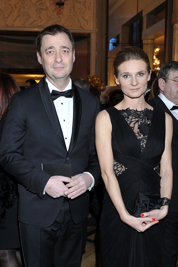 Jacek Rozenek i Anna /- /AKPA