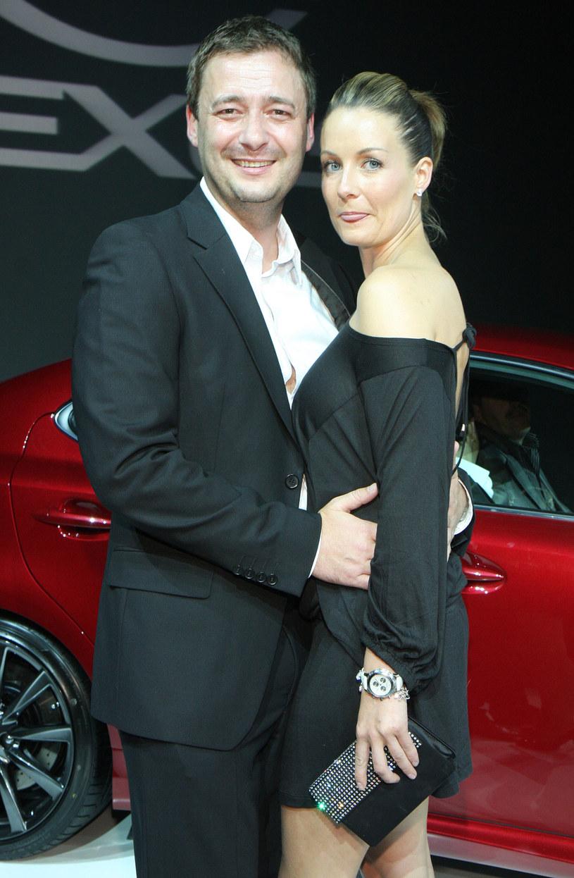 Jacek Rozenek i Małgorzata Rozenek, 2008 r. /Paweł Kibitlewski /ONS