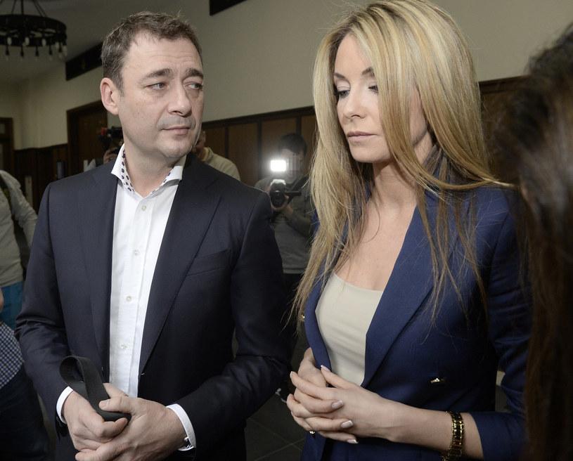 Jacek Rozenek i Małgorzata Rozenek-Majdan /East News