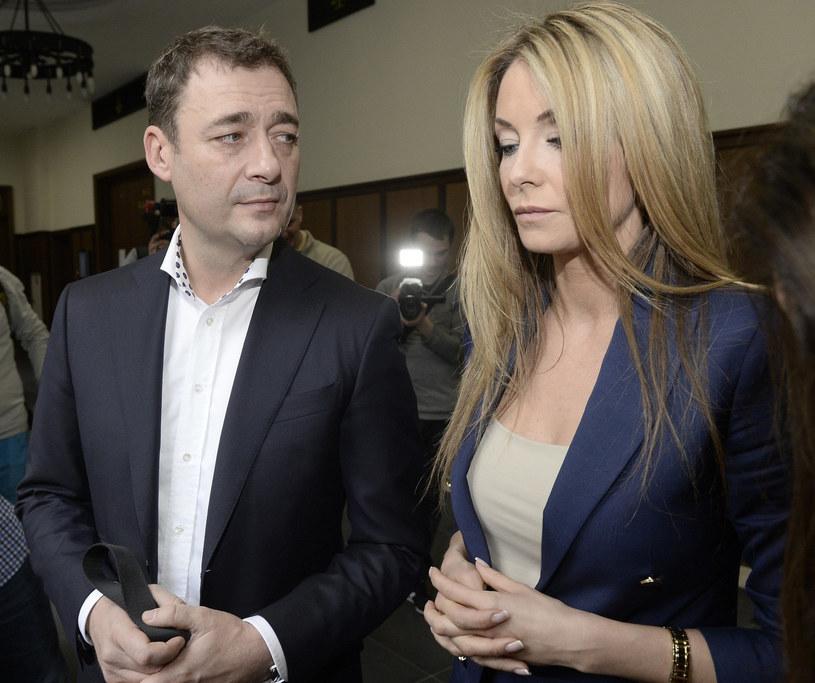 Jacek Rozenek i Małgorzata /Tricolors /East News
