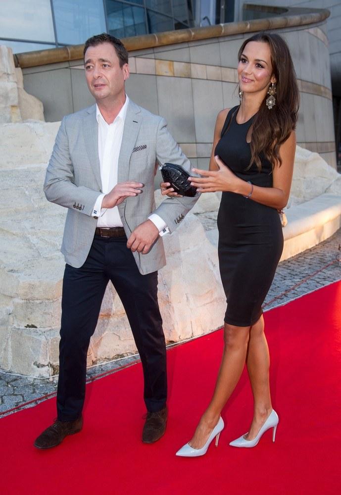 Jacek Rozenek i Paulina Krupińska /- /East News