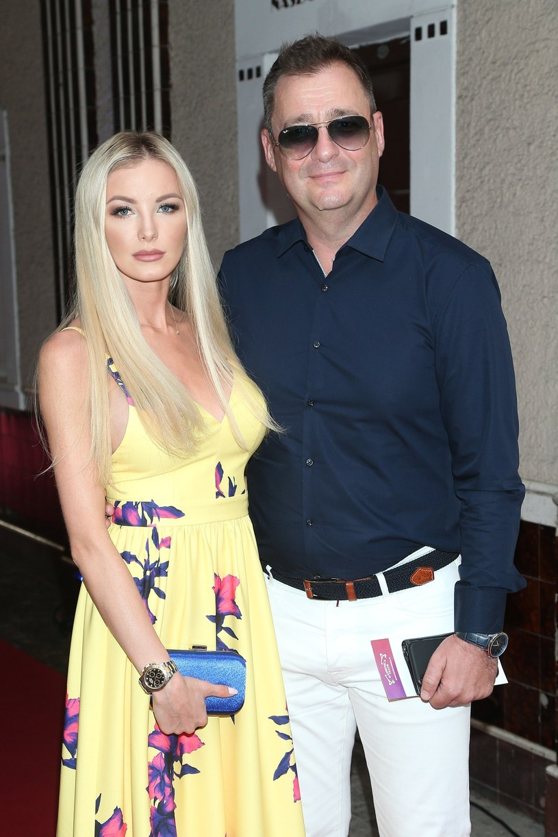 Jacek Rozenek i Roksana Gąska /VIPHOTO /East News