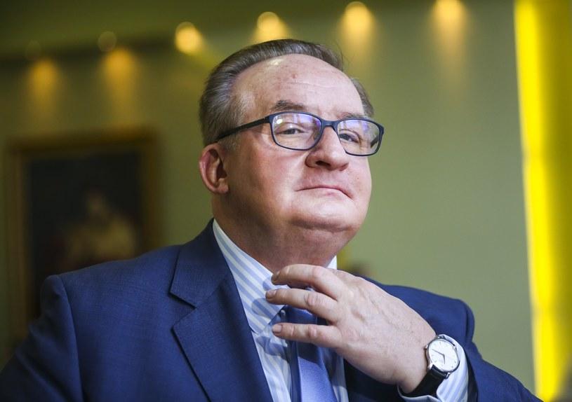 Jacek Saryusz-Wolski: Debata to ciąg dalszy robienia Polsce gęby i złej prasy /Beata Zawrzel /Reporter