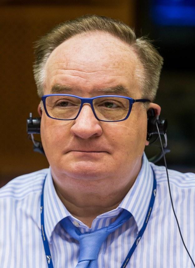 Jacek Saryusz-Wolski /STEPHANIE LECOCQ  /PAP/EPA