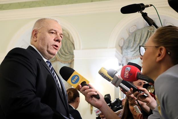 Jacek Sasin. Fot. Piotr Molęcki /Agencja SE/East News