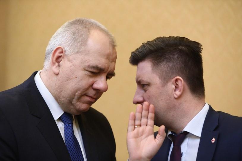 Jacek Sasin i Michał Dworczyk /Stanisław Kowalczuk /East News