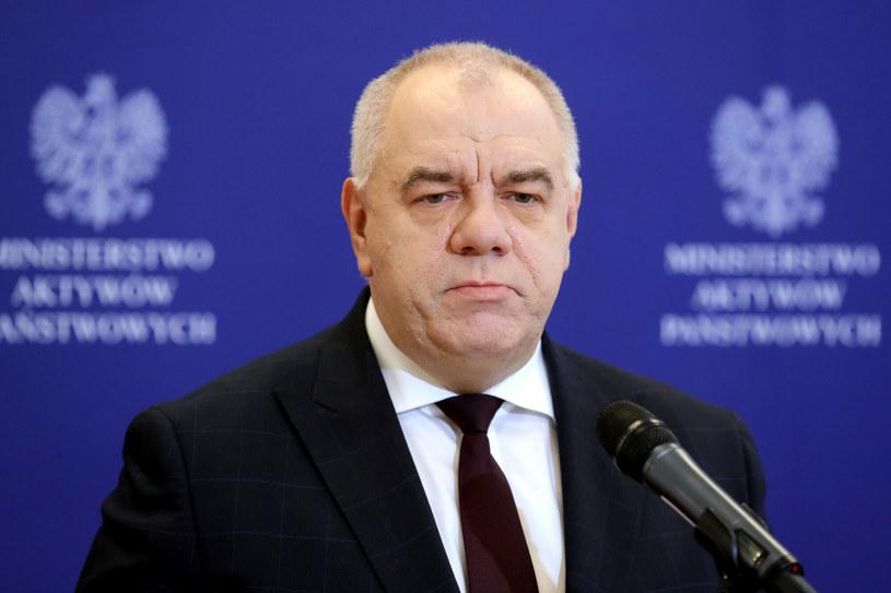 Jacek Sasin, minister aktywów państwowych /Piotr Molecki /East News