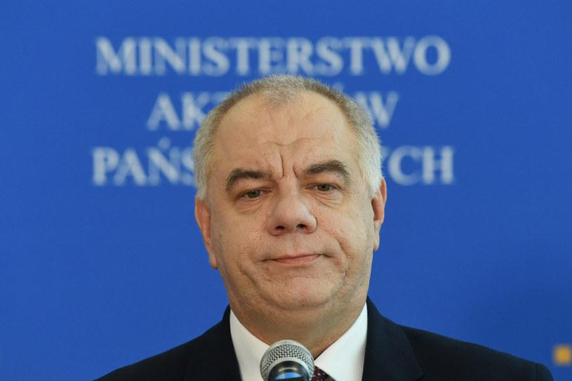 Jacek Sasin, minister aktywów państwowych / Jacek Domiński /Agencja SE/East News