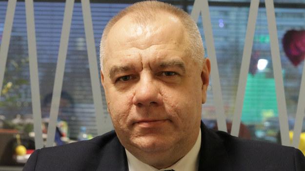 Jacek Sasin trafił do szpitala w związku z zakażeniem koronawirusem /Bartosz Sroczyński /RMF FM