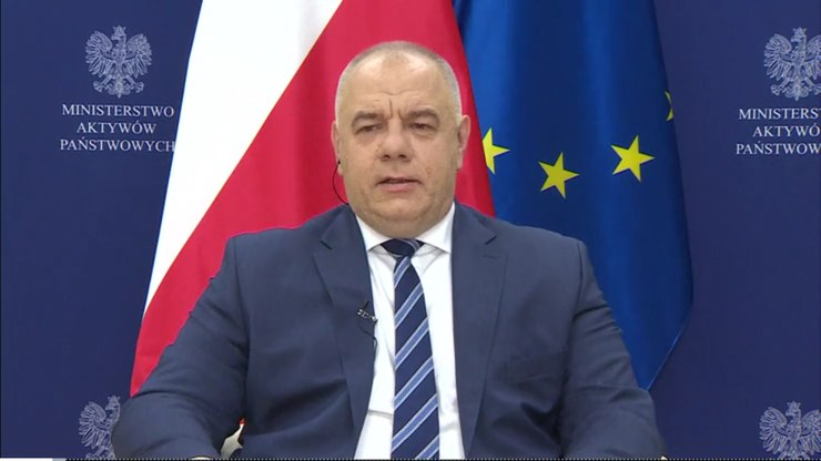 Jacek Sasin w Polsat News /Polsat News