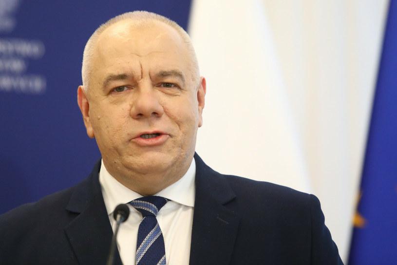 Jacek Sasin, wicepremier i minister aktywów państwowych /Tomasz Jastrzębowski /Reporter