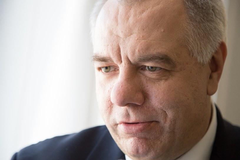 Jacek Sasin /Maciej Luczniewski/REPORTER /East News