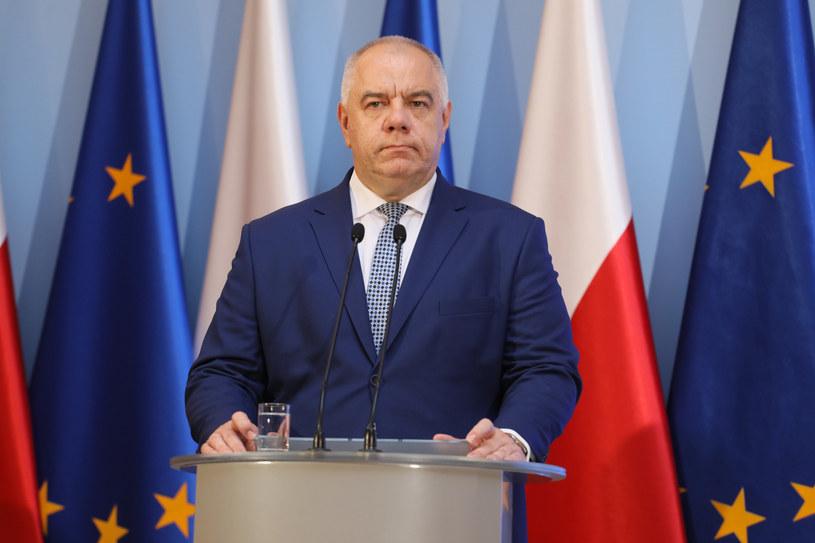 Jacek Sasin / Jakub Kamiński    /Reporter