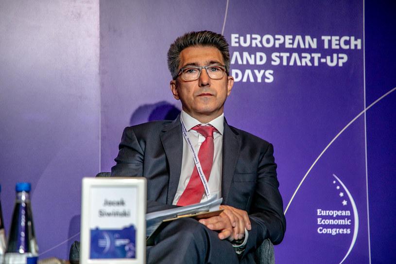 Jacek Siwiński, prezes firmy Velux /Fot. Ireneusz Rek /INTERIA.PL