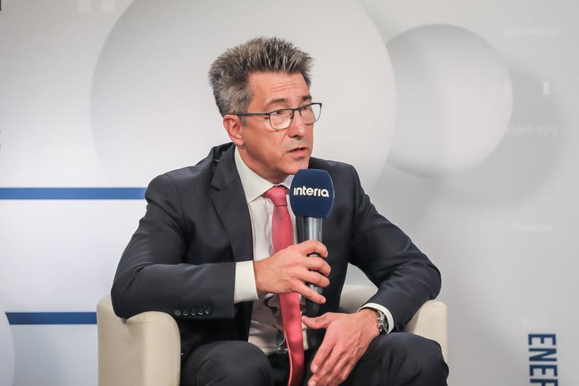 Jacek Siwiński, prezes VELUX Polska /Fot. Ireneusz Rek /INTERIA.PL