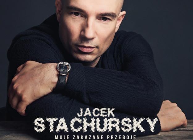 "Jacek Stachursky na okładce płyty ""Moje zakazane przeboje"" /"