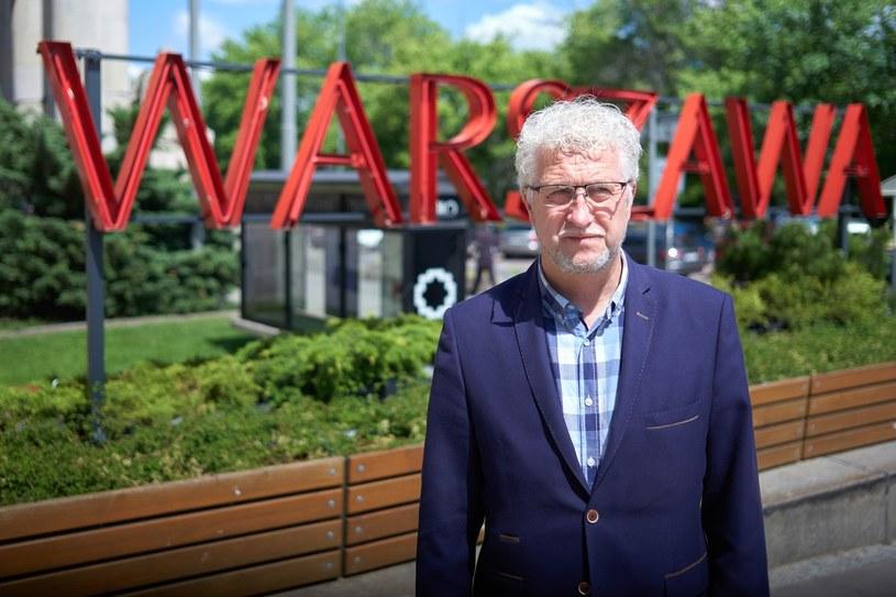 Jacek Wojciechowicz, kandydat niezależny /Hubert Mathis /Reporter
