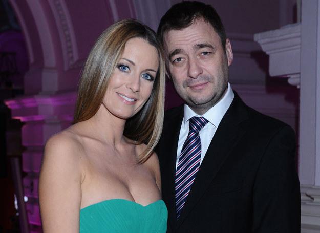 Jacek z byłą żoną Małgorzatą /Andras Szilagyi /MWMedia
