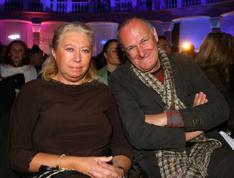 Jacek z żoną /- /East News