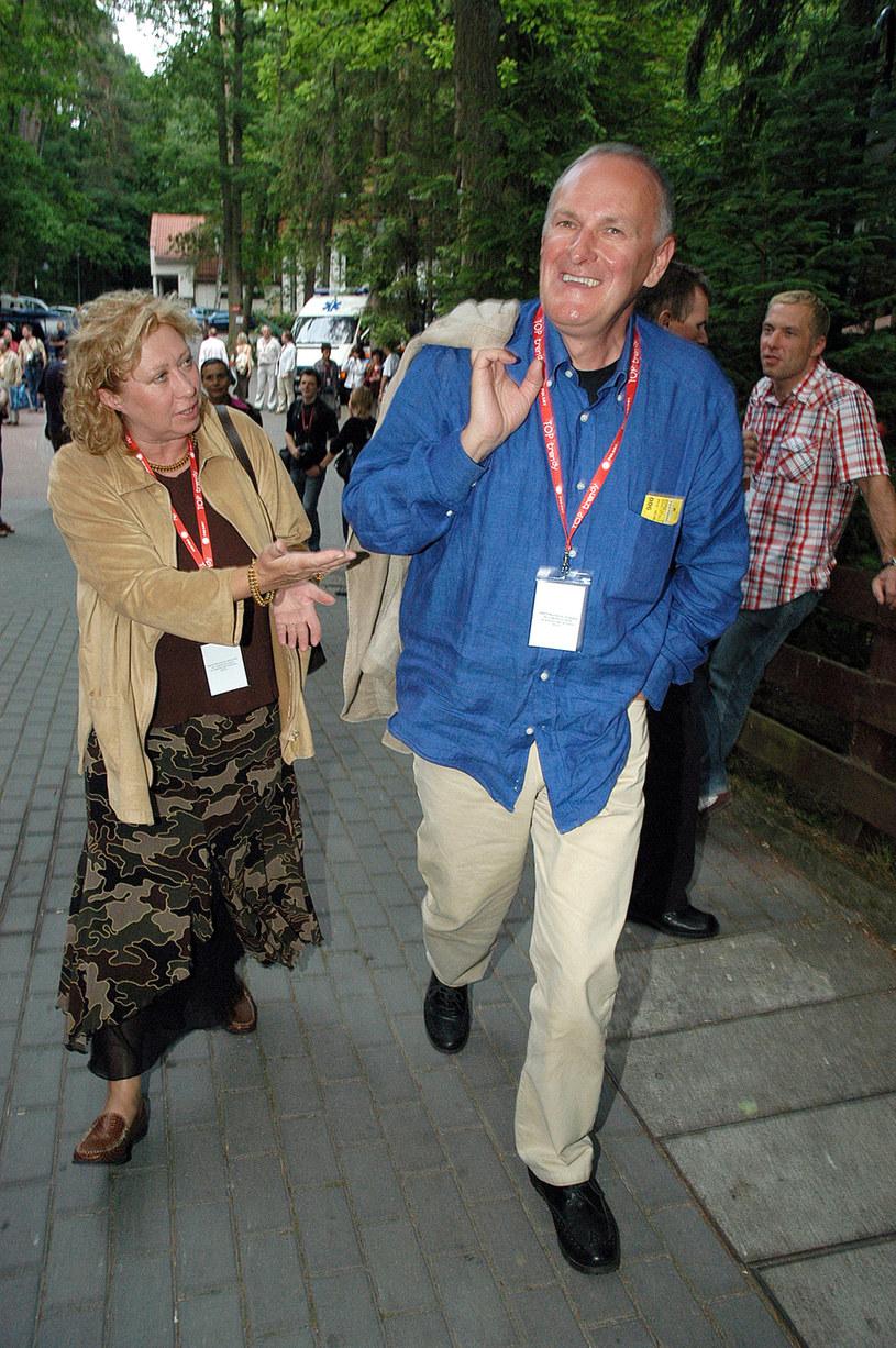 Jacek z żoną /- /AKPA