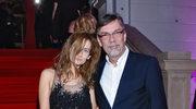 Jacek Żakowski z żoną