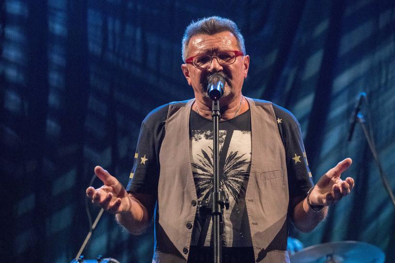 Jacek Zieliński podczas koncertu Skaldów /Paweł Wisniewski /East News