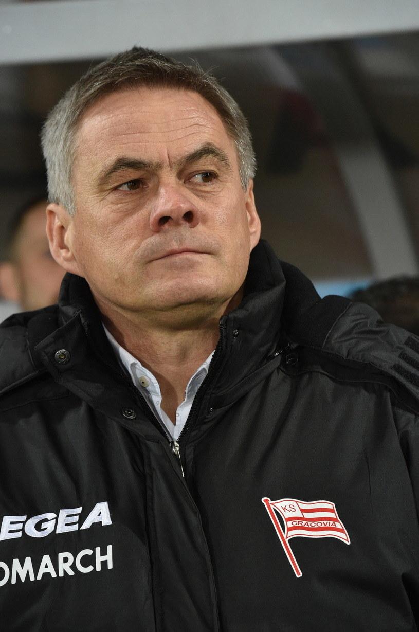 Jacek Zieliński podczas meczu ligowego /Jacek Bednarczyk /PAP