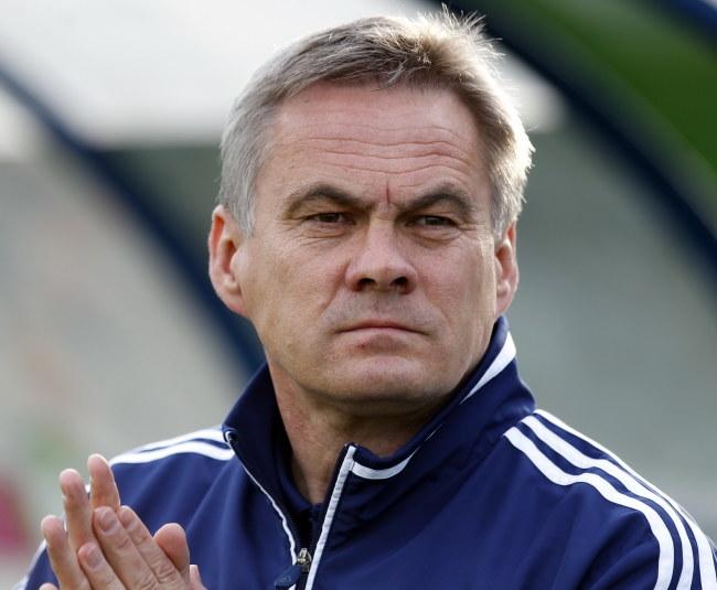 Jacek Zieliński, trener Ruchu /Andrzej Grygiel /PAP