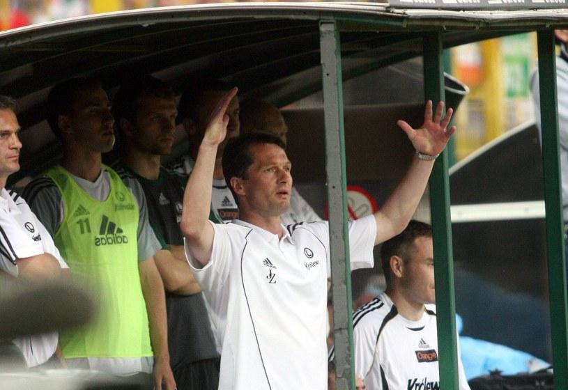 Jacek Zieliński w roli szkoleniowca warszawskiego zespołu pracował w latach 2004-2005 i 2007 /Kuba Atys /