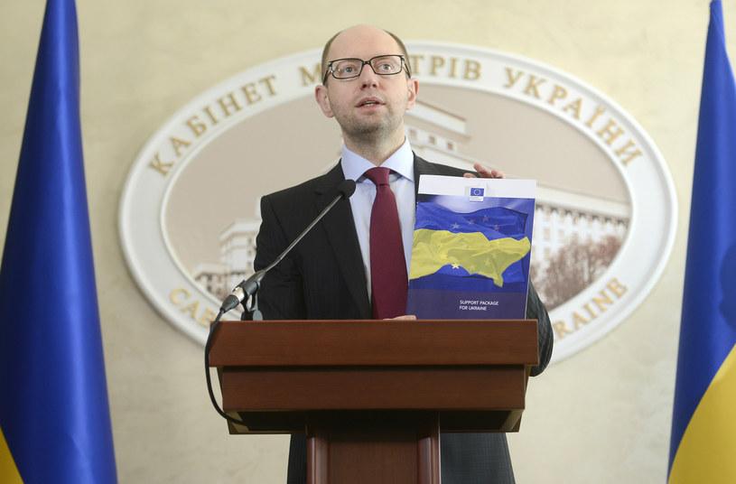 Jaceniuk złoży wizytę w Waszyngtonie /AFP