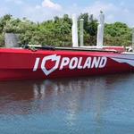 """Jacht """"I love Poland"""" znowu w wodzie"""