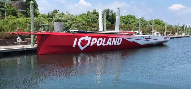 """Jacht """"I love Poland"""" /Paweł Żuchowski /RMF FM"""