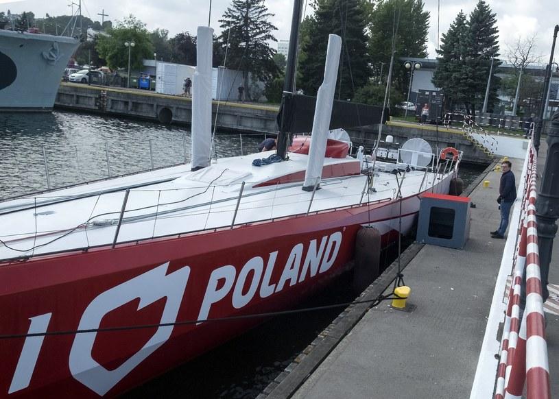 """Jacht """"I love Poland"""" /Marek Michalak /East News"""