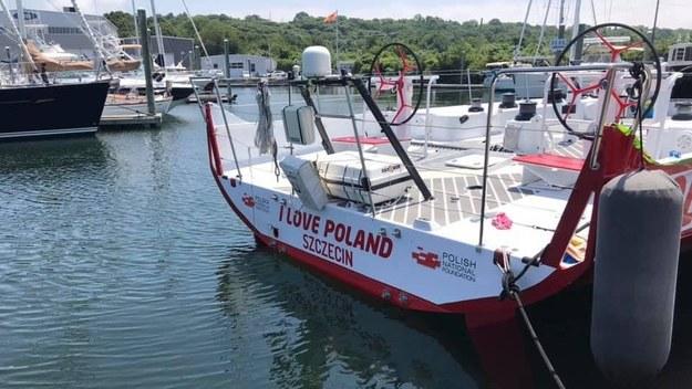 Jacht I love Poland /Paweł Żuchowski /RMF FM