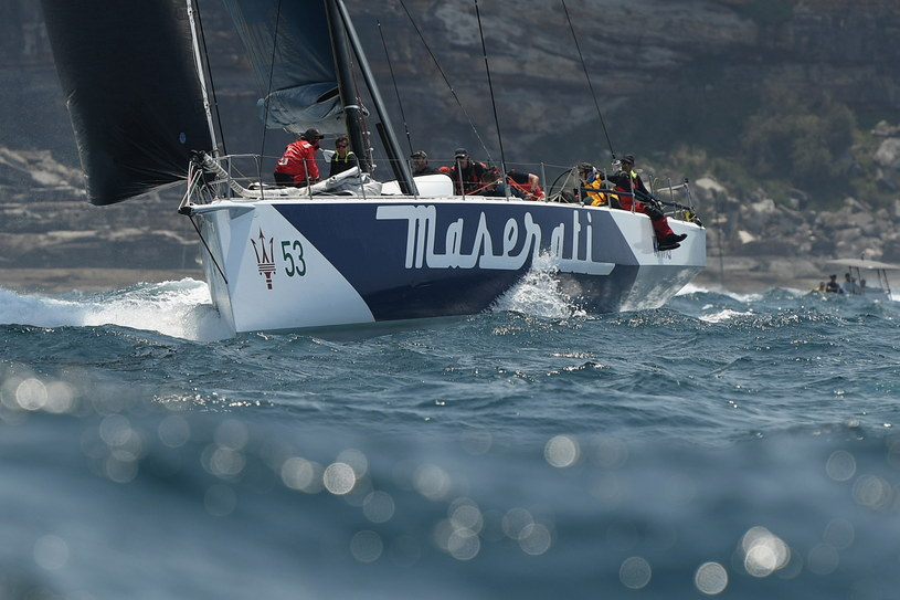 "Jacht ""Maserati"" /AFP"