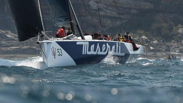 """Jacht """"Maserati"""" /JOEL CARRETT    /PAP/EPA"""