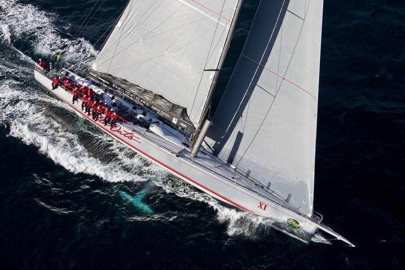"""Jacht """"Wild Oats XI"""" objął prowadzenie w regatach Sydney-Hobart /AFP"""