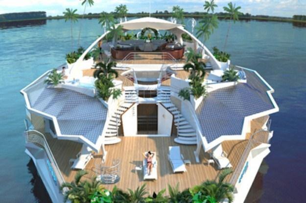 Jachty Orsos Island dla ekologów-milionerów /materiały prasowe